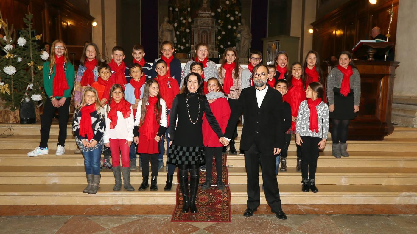 37° Natale in coro a Santa Giustina. Foto Andrea Dalla Libera