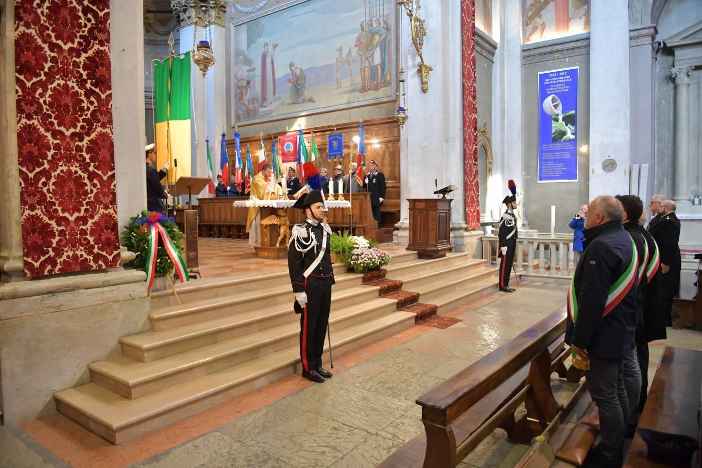 S. Giustina - Ignan - Inaugurazione della stele ai caduti di Nassiriya