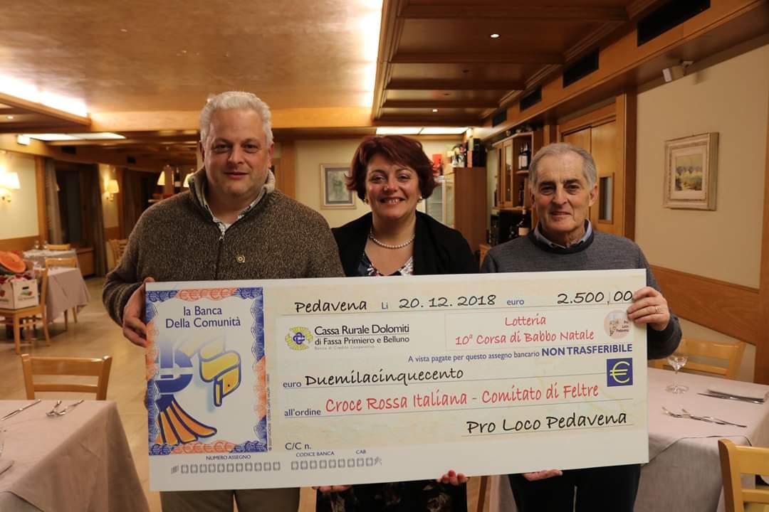 Cena Sociale Pro Loco Pedavena 2018 con premiazioni