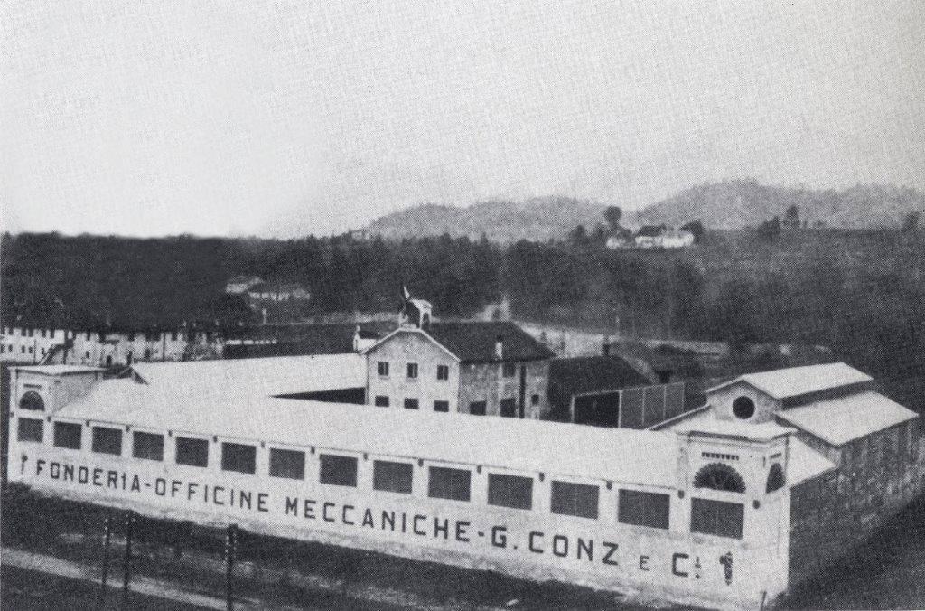 Le fonderie Conz a Belluno (tratta dal libro Opere nel Tempo)