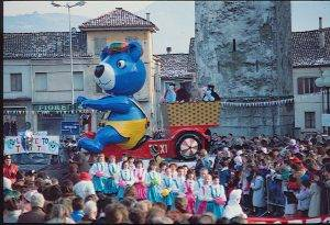 Carnevale di Santa Giustina - 1989 - l'orsetto taxista
