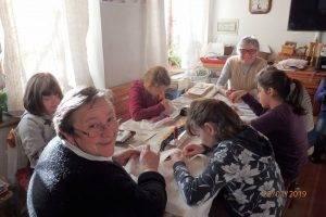 Doposcuola con le sorelle Griletto a Soranzen - Tutte all'opera...