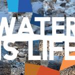 water is life. Il lavoro vincitore