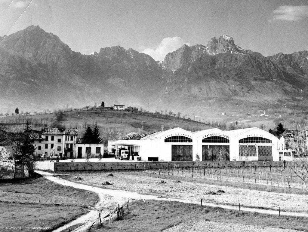 Cassol Trasporti foto storica