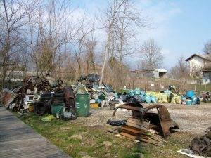 2019 - Raccolta rifiuti Salzan di Santa Giustina