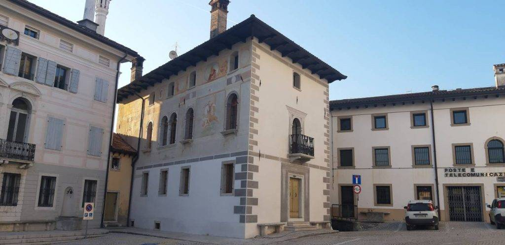 Restauro degli affreschi rinascimentali a Palazzo Barbuio Francescon a Mel - Borgo Valbelluna